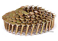 Гвозди барабанные к пневматического цвяхозабивного пистолета : l=19 мм, Ø=3.1 мм, 4200 шт. Vorel 72000