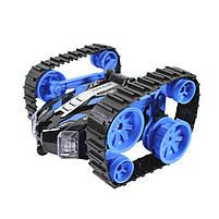 Детская трюковая машинка YDJIA D851 Blue вездеход-перевертыш с дистанционным управлением, фото 3