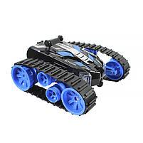 Детская трюковая машинка YDJIA D851 Blue вездеход-перевертыш с дистанционным управлением, фото 4