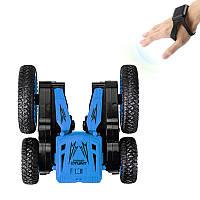 Детская трюковая машинка YDJIA D850 Blue вездеход-перевертыш с дистанционным управлением