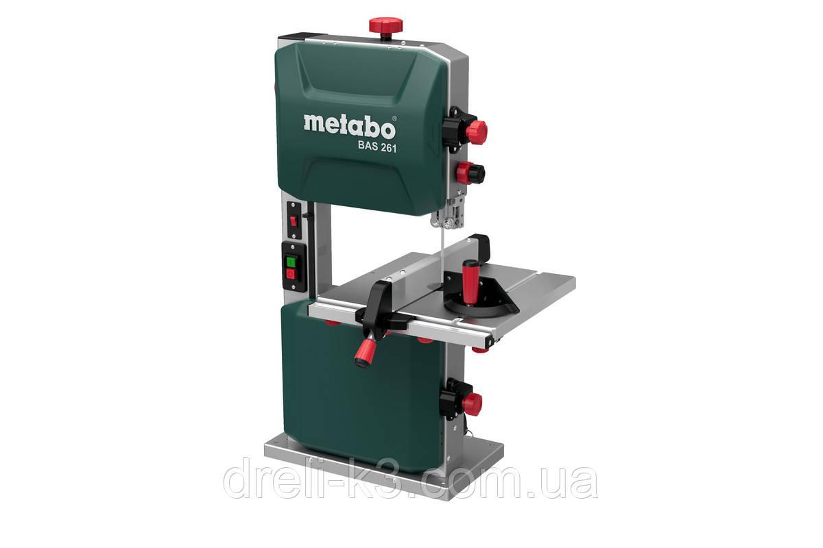 Пила ленточная Metabo PRECISION BAS 261 (619008000)