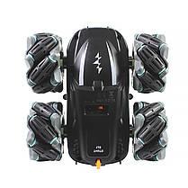 Трюковая машинка перевертыш-вездеход Lesko T17 Black с дистанционным управлением детская, фото 2