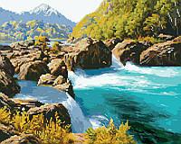 Картина по номерам Brushme Картина по номерам Brushme Горная река