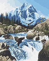 Картина по номерам Brushme Холодное горный источник