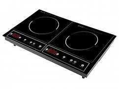 Індукційна плита Topmatic DIP-4000.3, 2 конфорки, 8 режимів, 3500 Вт