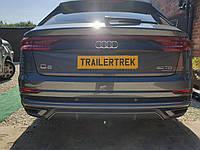 Фаркоп Audi Q8 2019- быстросъемный на ключе