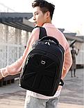 Рюкзак городской черный, фото 2