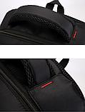 Рюкзак городской черный, фото 6