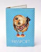 Обкладинка на паспорт СОВУШКА