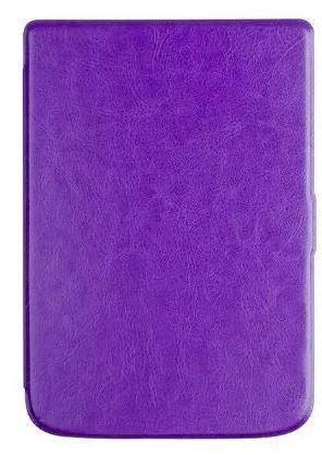 Обложка чехол  для PocketBook 632 Touch HD 3 автосон фиолетовый, фото 2