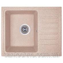 Плита гранітна мийка з крилом Cosh 5546 kolor 300 Бежевий
