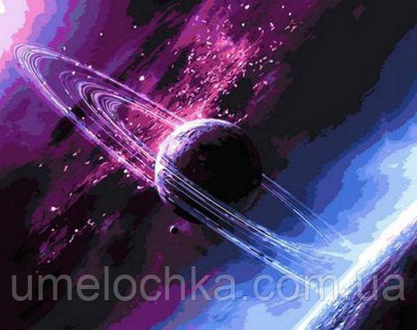 Картина за номерами Крізь всесвіт (QS792) 50 х 65 см Babylon