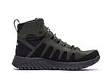 Ботинки зимние мужские кожаные Pitbull Olive (реплика), фото 4