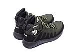 Ботинки зимние мужские кожаные Pitbull Olive (реплика), фото 5