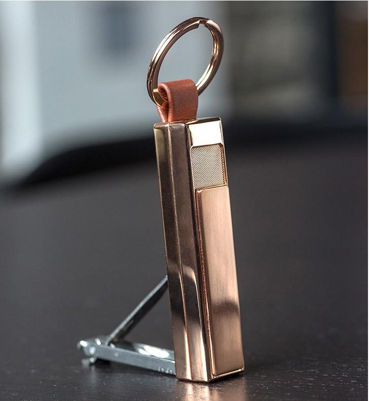 USB зажигалка-брелок JOBON gold 021_4