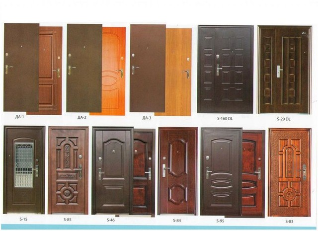 Толщина металлических дверей утепление