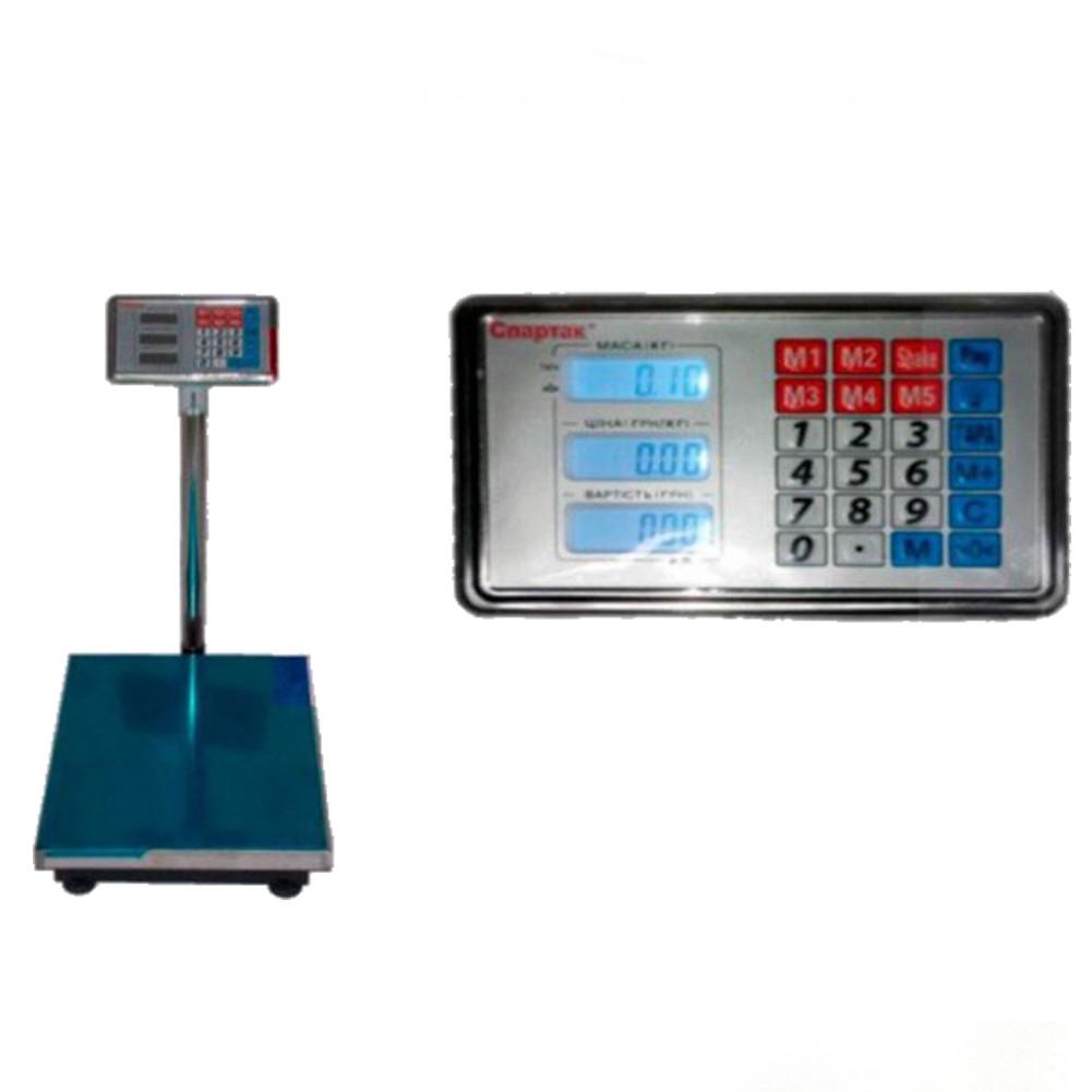 Весы торговые ACS со стойкой до 600 кг