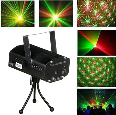 Лазер диско Mini Laser 2 в 1