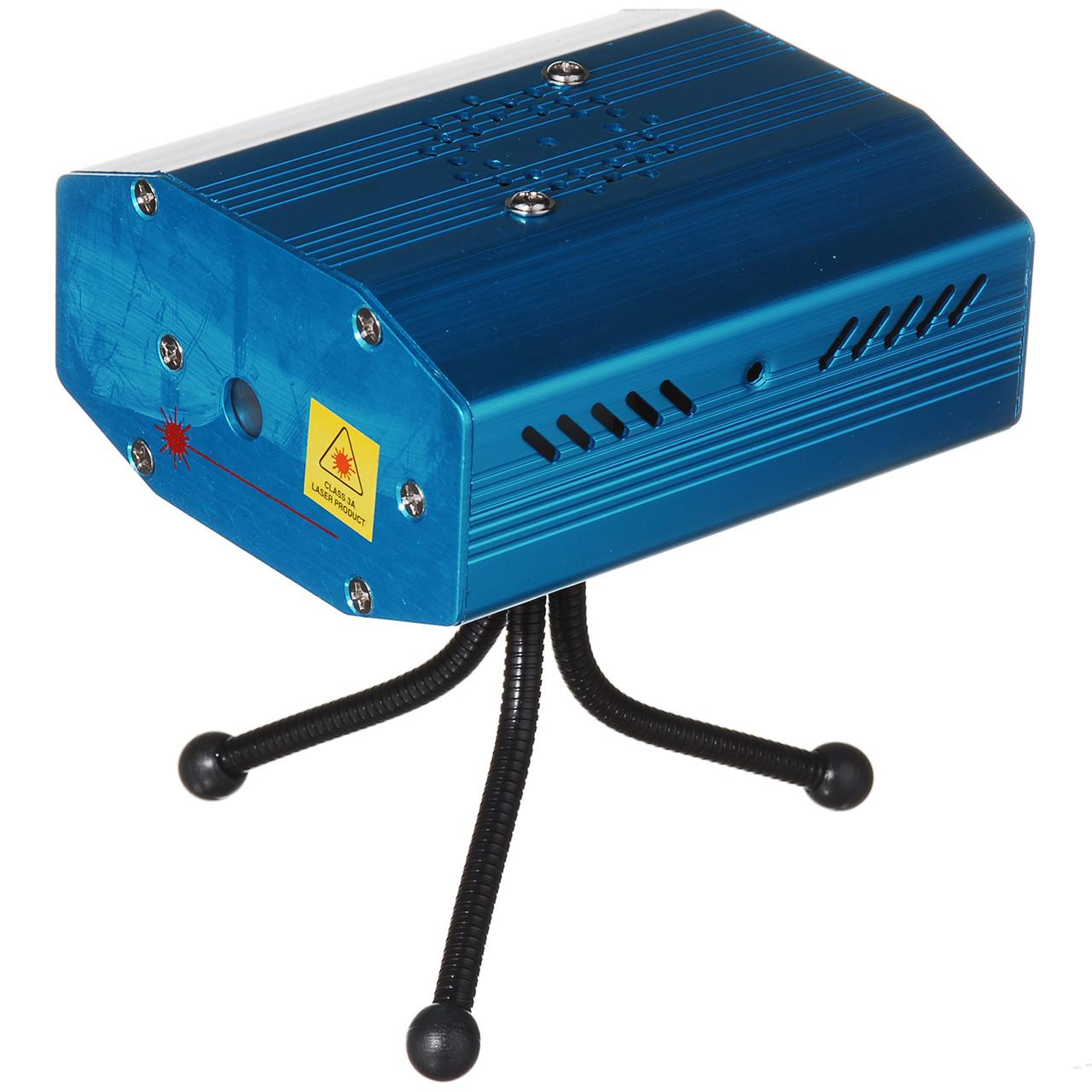 Лазер диско Mini Lazer 6 в 1