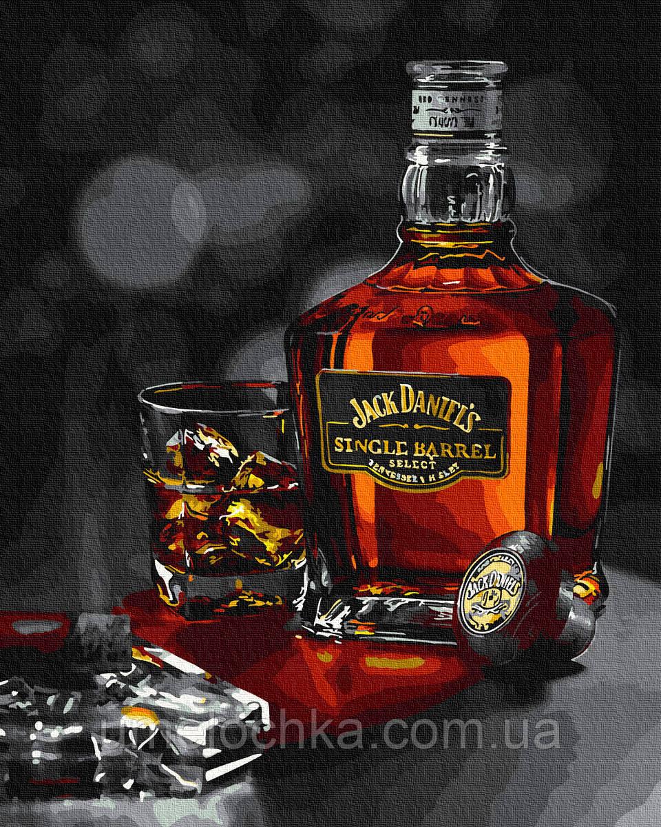 Картина по номерам  Джек Дэниэлс (BK-GX35226) 40 х 50 см (Без коробки)