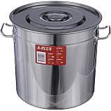 Кастрюля большая 35 литров A-PLUS, фото 2