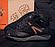 Кожаные зимние мужские ботинки в стиле MERRELL Black черные на шнурках, фото 2