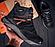Кожаные зимние мужские ботинки в стиле MERRELL Black черные на шнурках, фото 3