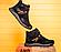 Кожаные зимние мужские ботинки в стиле MERRELL Black черные на шнурках, фото 5