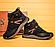 Кожаные зимние мужские ботинки в стиле MERRELL Black черные на шнурках, фото 6
