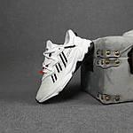 Рефлективные женские кроссовки Adidas Ozweego TR (бело-черные) спортивные весенние кроссы 20259, фото 6