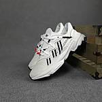 Рефлективные женские кроссовки Adidas Ozweego TR (бело-черные) спортивные весенние кроссы 20259, фото 9
