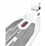 Самокат Urban Scooter с дисковым тормозом на широком колесе чёрный, фото 7
