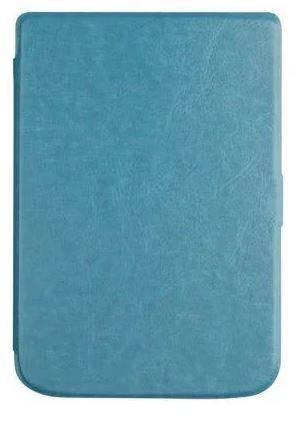 Обложка чехол  для PocketBook 632 Touch HD 3 автосон синий, фото 2