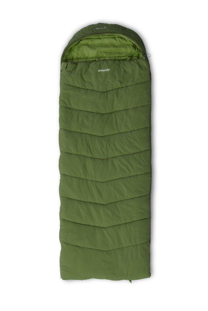 Спальний мішок Pinguin Blizzard Wide PFM 190 2020 Khaki Left Zip
