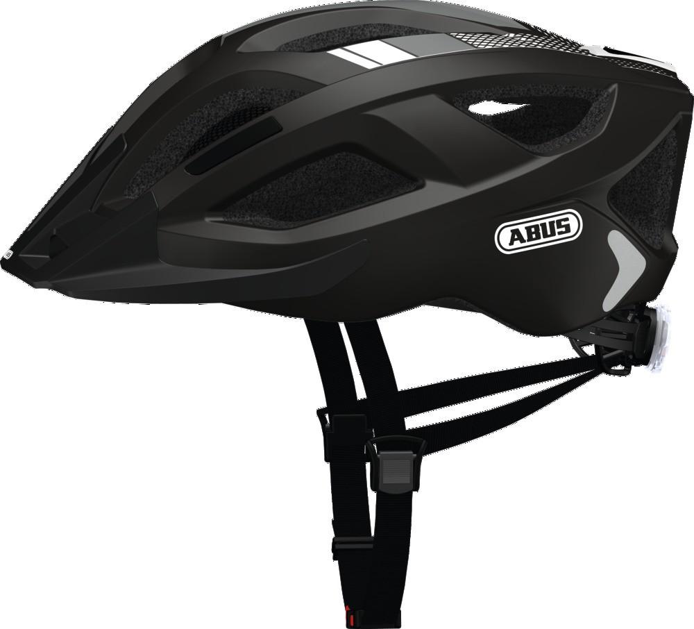 Шолом велосипедний ABUS ADURO 2.0 S 51-55 Race Black