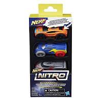 Автотрек Nerf Nitro Три машинки (C0777)