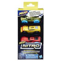Автотрек Nerf Nitro Три машинки (E1235)