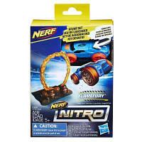 Автотрек Nerf Nitro Препятствие и машинка (E1269)