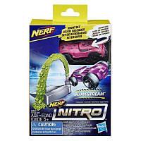 Автотрек Nerf Nitro Препятствие и машинка (E2537)