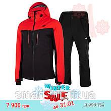 Мужской горнолыжный костюм 4F 2021 M красный черный (H4Z20-KUMN008-62S-set-M) winter