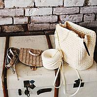 Набор для рюкзака экокожа крокодил Синий (5 позиций) фурнитура золото , фото 3