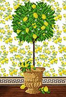 """Схема для вышивки бисером на атласе (символы) """"Дерево процветания"""" Серия Элит"""
