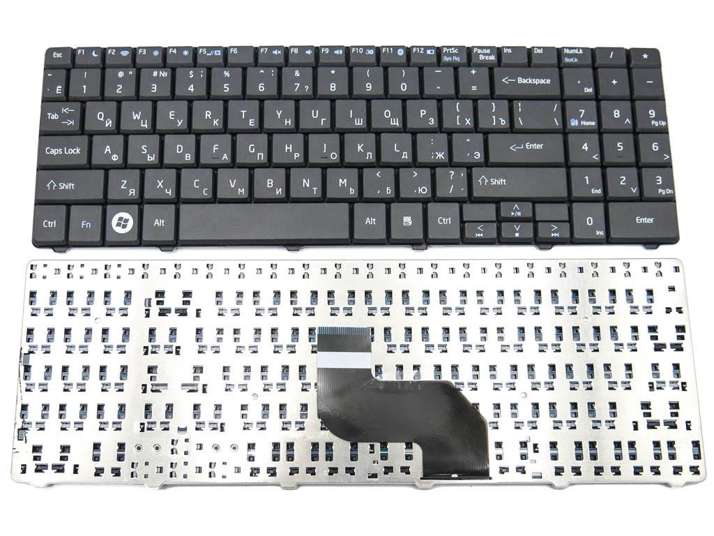 Клавиатура для ноутбука MSI CR640, CX640 ( RU black ) Русская раскладка.
