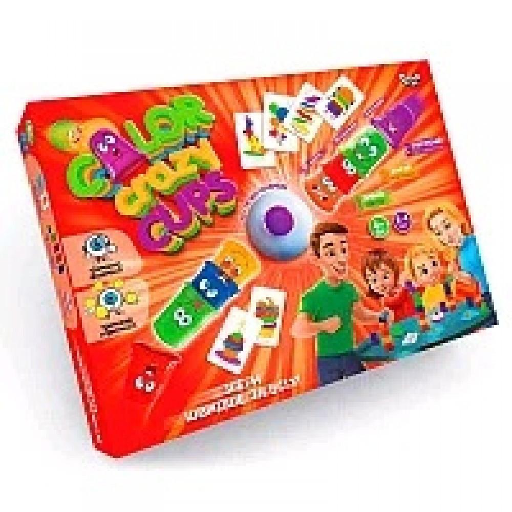 Гра настільна Color Crazy Cups 29*38*5см ДТ