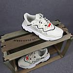 Жіночі кросівки Adidas Ozweego TR (бежеві) спортивні весняні кроси 20261, фото 3