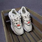 Жіночі кросівки Adidas Ozweego TR (бежеві) спортивні весняні кроси 20261, фото 9