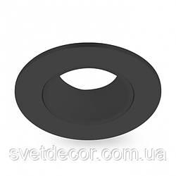 Встраиваемый светильник Feron DL0375 GU5.3 MR-16 точечный поворотный черный круг