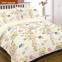 Комплект постельного белья Вилюта ранфорс 4457 детский желтый