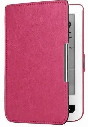 Чохол обкладинка PocketBook 614 Basic 3 рожевий