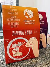 Лляна каша натуральна 300 г Healthy Women   Льняная каша натуральная 300 г